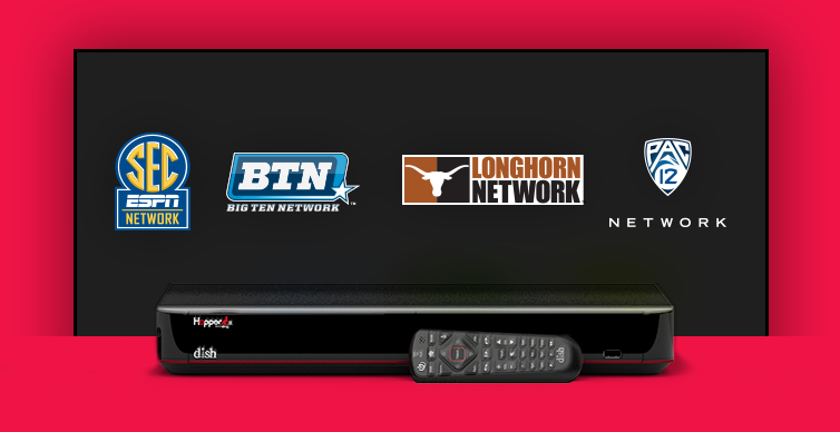 DISH College Sports TV Packages - Colleyville, Texas - Global Pursuit Group/GP Group - DISH Authorized Retailer